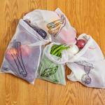 Ekologiczne, wielorazowe superlekkie woreczki na zakupy